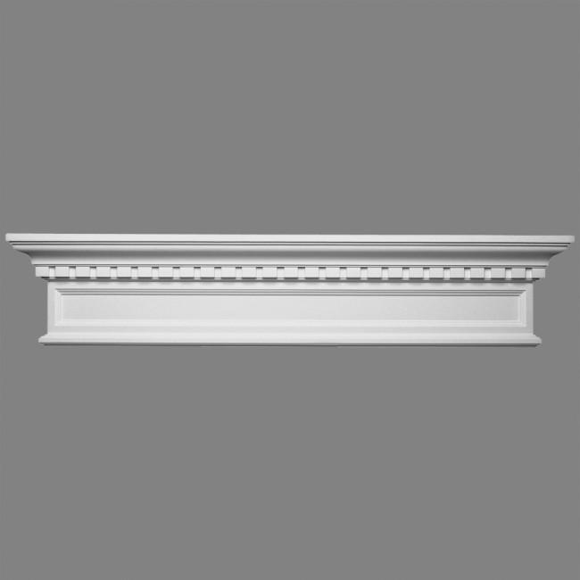 Fronton d120 sierlijsten kroonlijsten moulures plinten en rozetten - Moulure architectuur ...