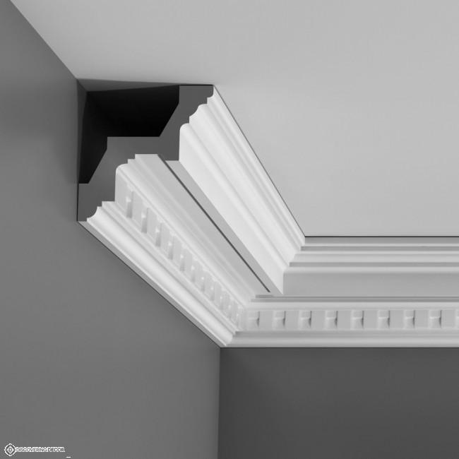 Kroonlijst sierlijst plafondlijst c211 sierlijsten kroonlijsten moulures - Moulure architectuur ...