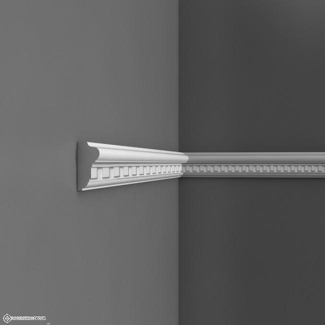 Wandlijst p6020 sierlijsten kroonlijsten moulures plinten en rozetten - Moulure architectuur ...