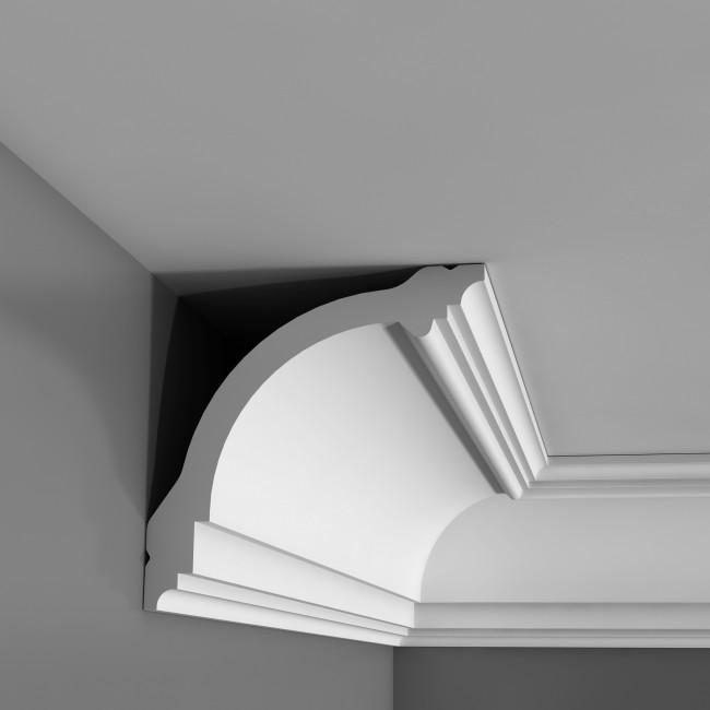 Corniche plafond orac decor cb512 10 x 10 cm bo te enti re - Moulure polystyrene plafond ...