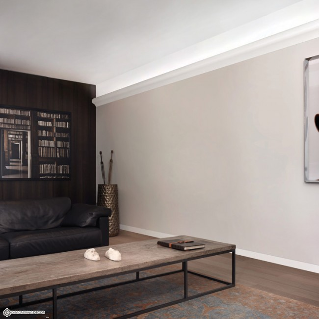 corniche clairage indirect c364. Black Bedroom Furniture Sets. Home Design Ideas