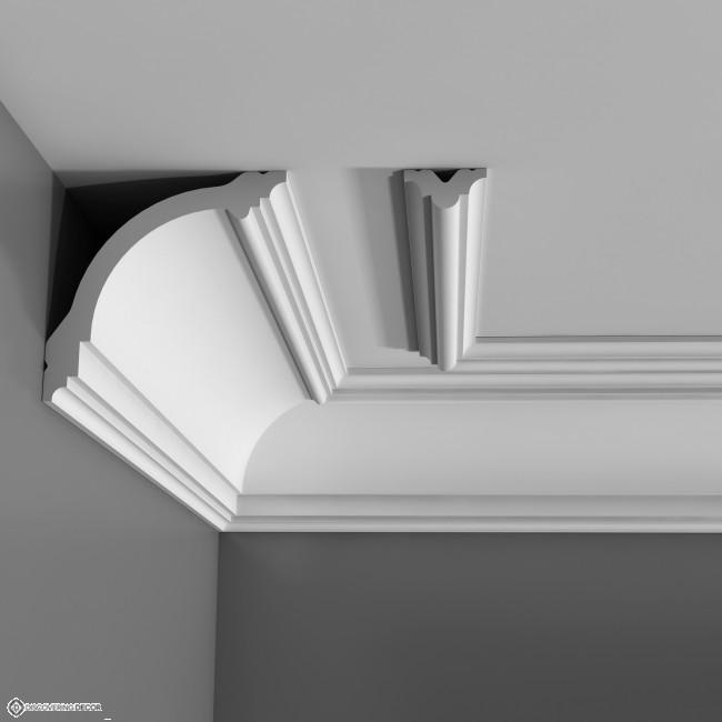 Corniche plafond cb 512 moulure deco corniche plafond et - Moulure polystyrene plafond ...