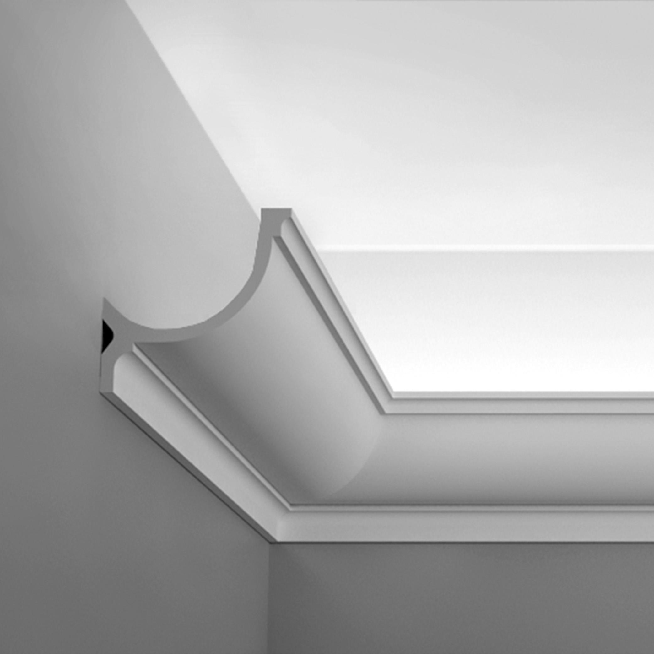 Kroonlijst sierlijst plafondlijst voor indirecte verlichting C902il ...